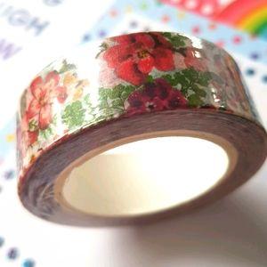 🆕 NEW Flowers Washi Tape 15mmx10m